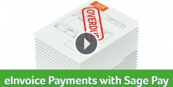eInvoice Payments with Sage Pay
